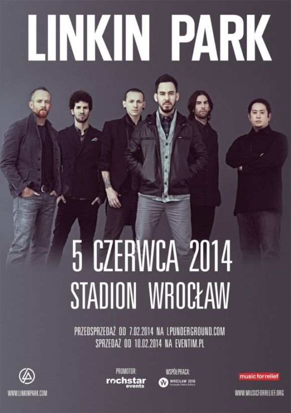 Linkin Park, Wroclaw, Poland. June 5th
