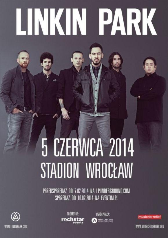 Linkin Park, Wroclaw, Poland. June 5th